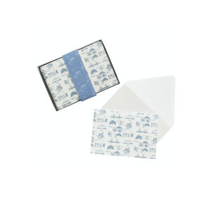 Charleston Toile Boxed Card Set