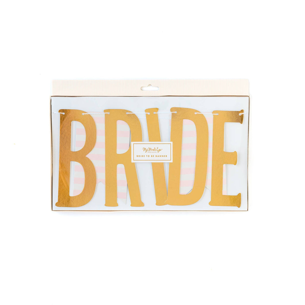 Bride To Be Word Banner