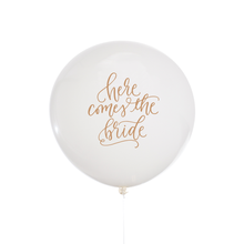 Load image into Gallery viewer, Here Comes The Bride Jumbo Balloon