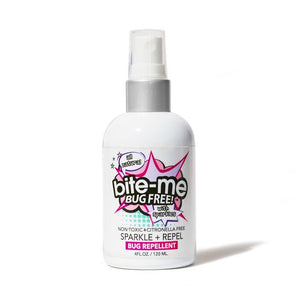 Bite Me Bug Free Sparkle Bug spray