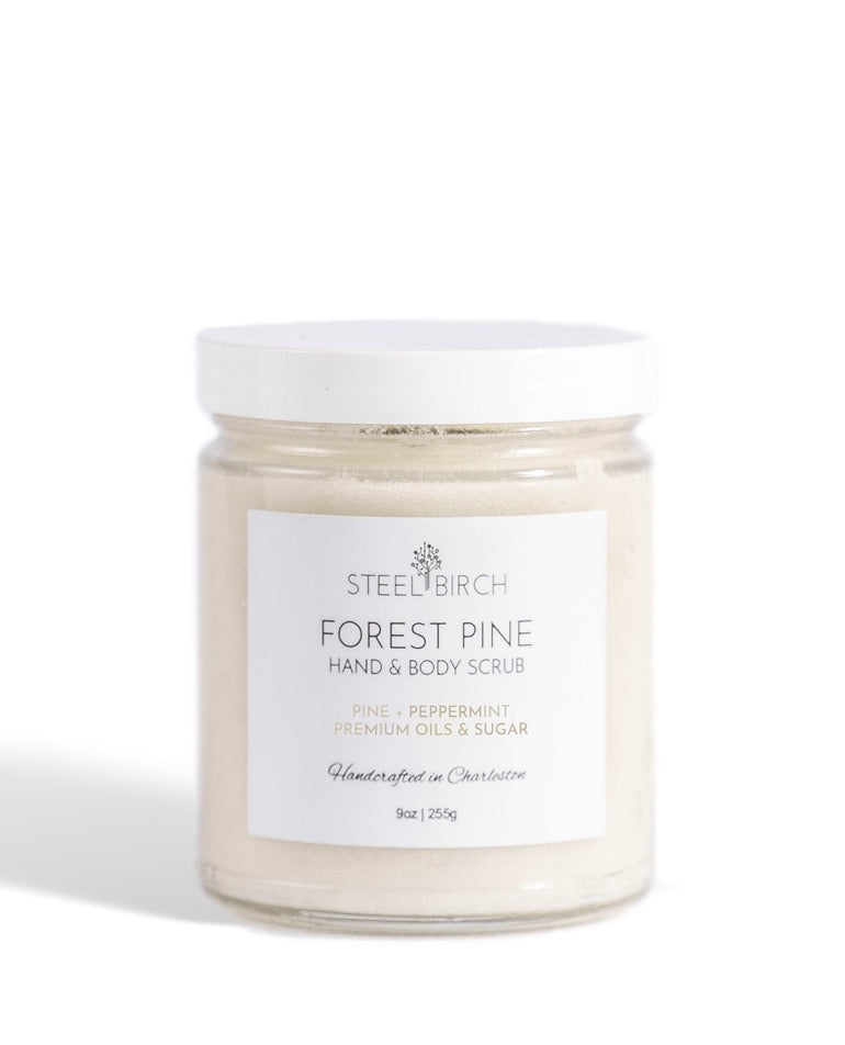 Forest pine Sugar Scrub