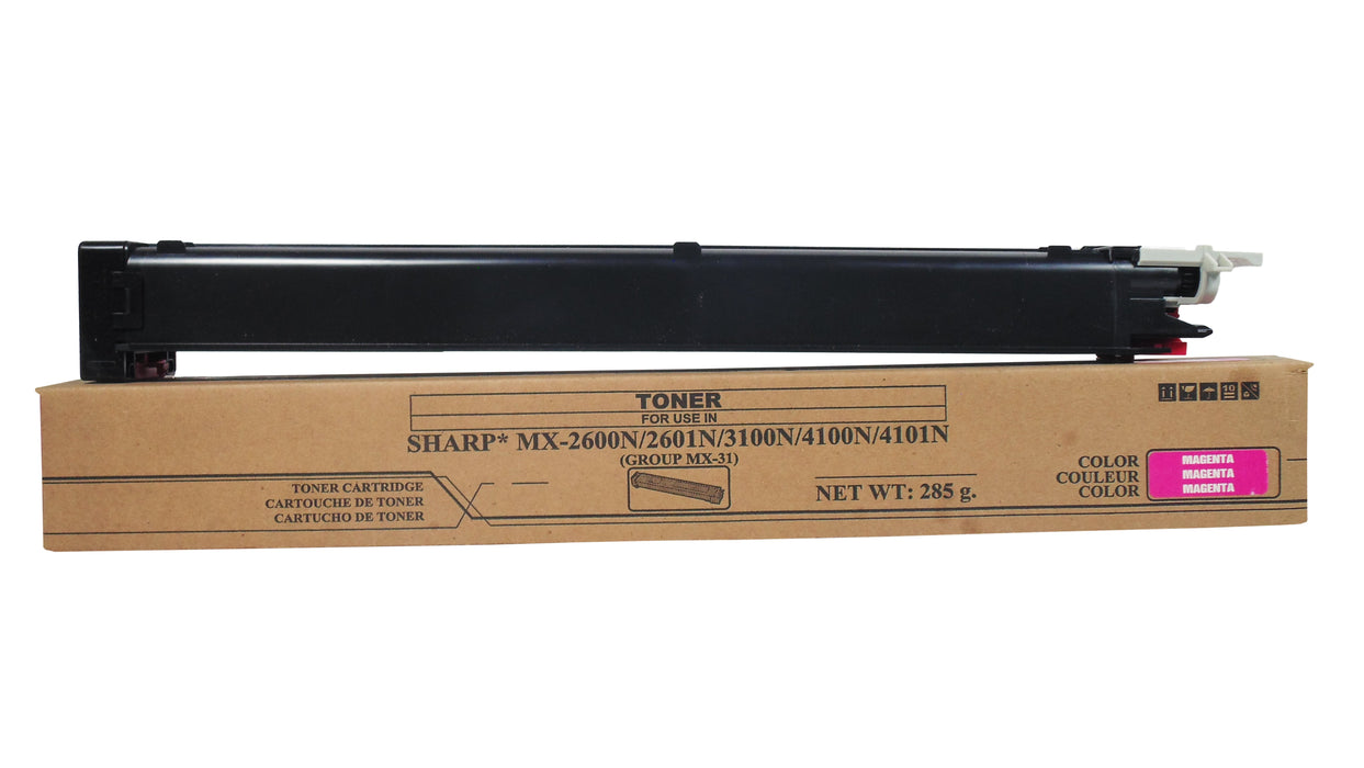 Toner Sharp MAGENTA MX2600,MX3100 MX31NTMA,MX4100,MX4101,MX5001 Black Star