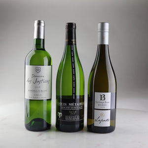 Case Made Wines, Wine delivery california, Domaine des Justices Bordeaux Blanc 2018, Louis Metaireau 'Black Label' Muscadet Sèvre-et-Maine 2018, Laporte Le Bouquet Sauvignon Blanc 2018