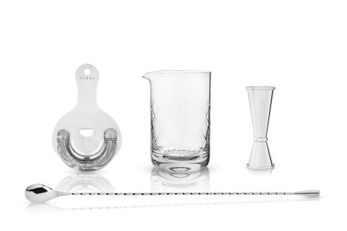 Stainless Steel Mixologist Barware Set