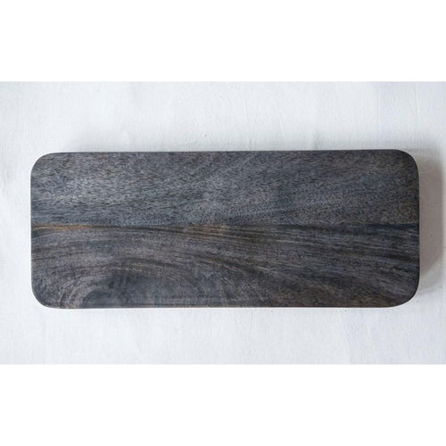 Mango Wood Cutting Board with Metal Legs
