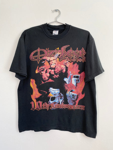 Ozzfest 10th Anniversary T-Shirt