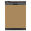 Load image into Gallery viewer, Almond Nutshell Color Magnet Skin on Black Dishwasher