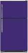 Load image into Gallery viewer, Amethyst Purple Color Magnet Skin on Model Type Top Freezer Refrigerator
