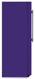 Amethyst Purple Color Magnet Skin on Side of Refrigerator