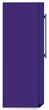 Load image into Gallery viewer, Amethyst Purple Color Magnet Skin on Side of Refrigerator
