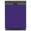 Load image into Gallery viewer, Amethyst Purple Color Magnet Skin on Black Dishwasher