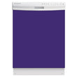 Load image into Gallery viewer, Amethyst Purple Color Magnet Skin on White Dishwasher