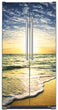 Load image into Gallery viewer, Beach Sunrise Magnet Skin on Model Type Side by Side Refrigerator