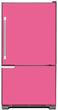 Load image into Gallery viewer, Bubble Gum Pink Color Magnet Skin on Model Type Bottom Freezer Refrigerator