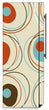 Load image into Gallery viewer, Colored Circle Designs Magnetic Refrigerator Skin Cover Wrap on Fridge Side Panel