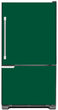 Load image into Gallery viewer, Forest Green Color Magnet Skin on Model Type Bottom Freezer Refrigerator