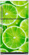 Load image into Gallery viewer, Fresh Limes Magnet Skin on Model Type Top Freezer Refrigerator
