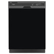 Load image into Gallery viewer, Gloss Black Color Magnet Skin on Black Dishwasher