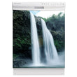 Load image into Gallery viewer, High Waterfalls Magnet Skin on White Dishwasher