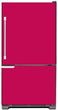 Load image into Gallery viewer, Hot Pink Color Magnet Skin on Model Type Bottom Freezer Refrigerator