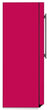 Load image into Gallery viewer, Hot Pink Color Magnet Skin on Side of Refrigerator
