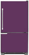 Load image into Gallery viewer, Lavender Mauve Color Magnet Skin on Model Type Bottom Freezer Refrigerator