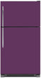 Load image into Gallery viewer, Lavender Mauve Color Magnet Skin on Model Type Top Freezer Refrigerator