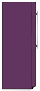 Lavender Mauve Color Magnet Skin on Side of Refrigerator