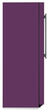 Load image into Gallery viewer, Lavender Mauve Color Magnet Skin on Side of Refrigerator