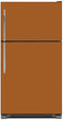 Load image into Gallery viewer, Metal Copper Color Magnet Skin on Model Type Top Freezer Refrigerator