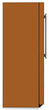 Load image into Gallery viewer, Metal Copper Color Magnet Skin on Side of Refrigerator