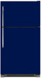 Load image into Gallery viewer, Midnight Blue Color Magnet Skin on Model Type Top Freezer Refrigerator