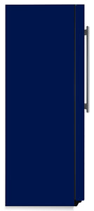 Midnight Blue Color Magnet Skin on Side of Refrigerator