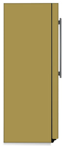 Olympic Gold Color Magnet Skin on Side of Refrigerator
