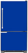 Load image into Gallery viewer, Royal Blue Color Magnet Skin on Model Type Bottom Freezer Refrigerator