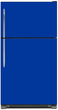 Load image into Gallery viewer, Royal Blue Color Magnet Skin on Model Type Top Freezer Refrigerator