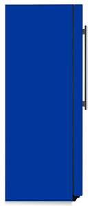 Royal Blue Color Magnet Skin on Side of Refrigerator