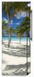 Load image into Gallery viewer, Sandy Beach Path Magnetic Refrigerator Skin Cover Wrap on Fridge Side Panel