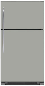 Shark Gray Color Magnet Skin on Model Type Top Freezer Refrigerator