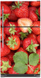 Load image into Gallery viewer, Sweet Strawberries Magnet Skin on Model Type Top Freezer Refrigerator