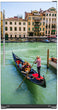 Load image into Gallery viewer, Venice Italy Magnet Skin on Model Type Top Freezer Refrigerator