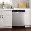 Load image into Gallery viewer, stainless steel dishwasher magnet skin update kitchen appliance