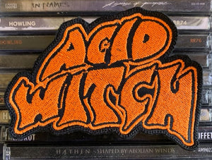 Acid Witch Embroidered Patch