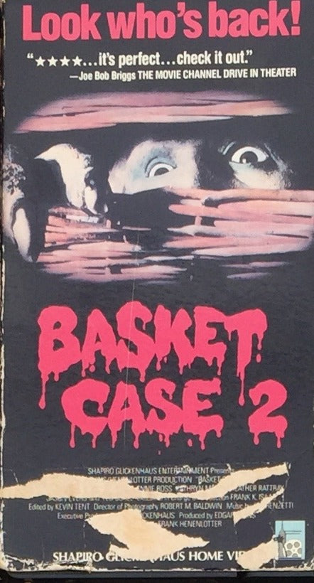 Basket Case 2 VHS