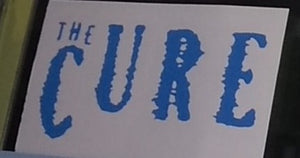The Cure Decal