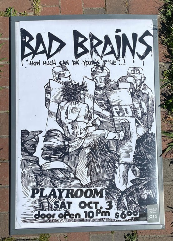 Bad Brains Poster