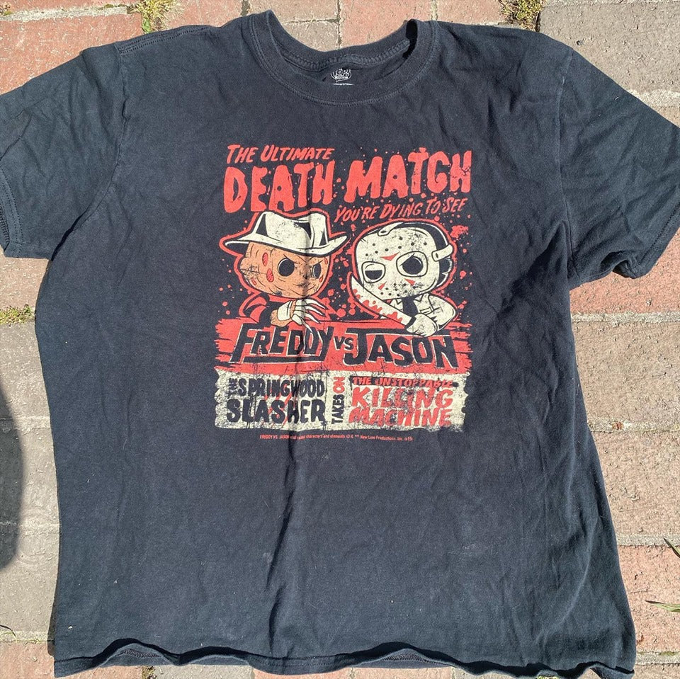 Freddy vs. Jason Death Match Shirt M