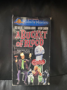 Bucket of Blood VHS