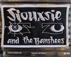 Siouxsie and the Banshees Embroidered Patch