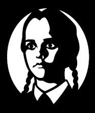 Wednesday Addams Decal